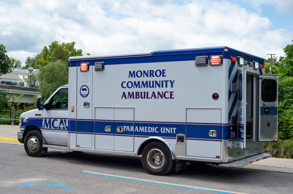 Picture of Ambulance from Monroe Community Ambulance